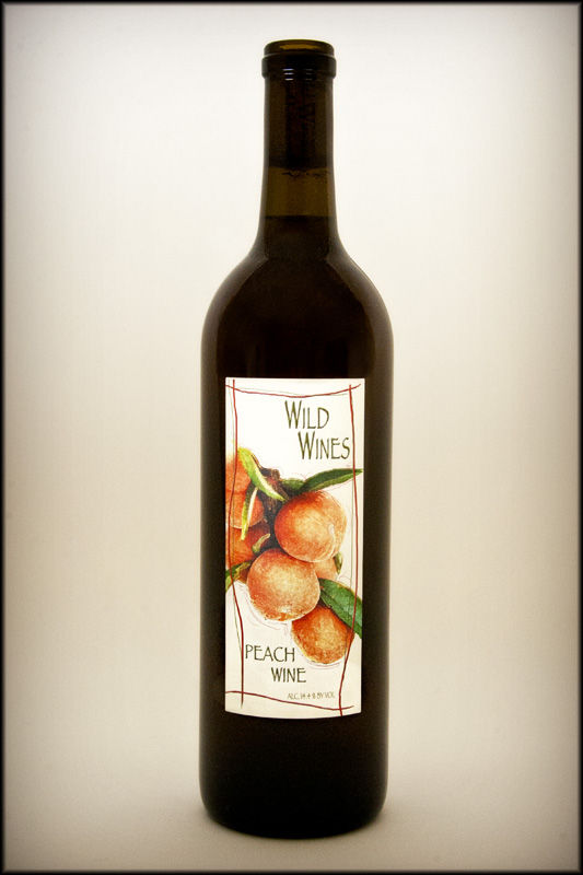 2015 Peach Wine Wild Wines Wild Wines